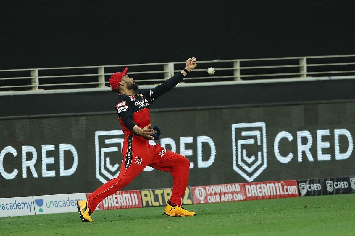 'Anushka won't let him hold the baby': Kohli's leg pulled over buttery fingers against Kings XI Punjab