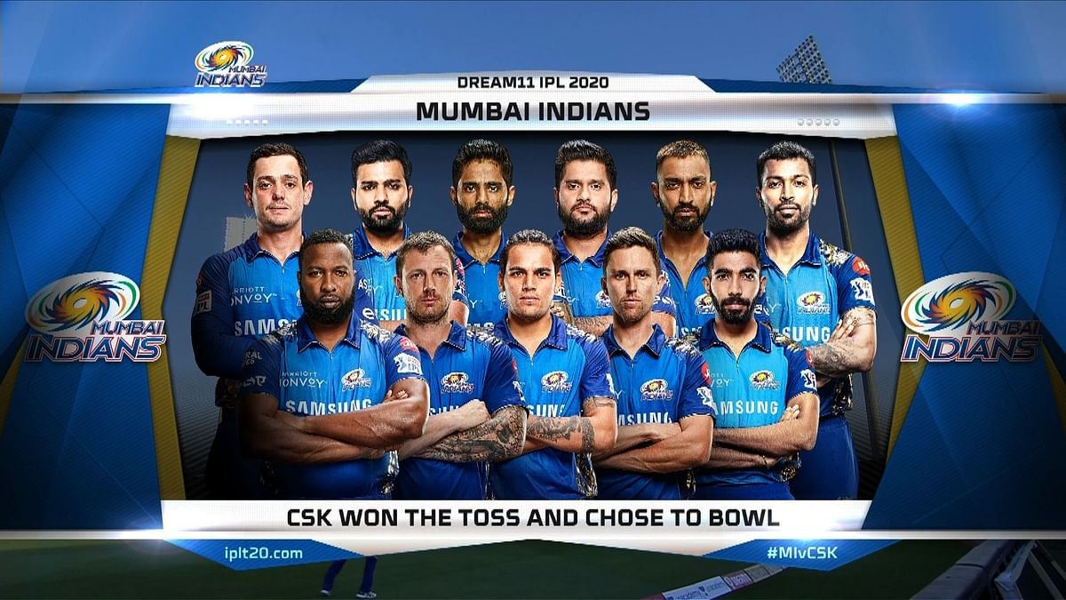 Mumbai Indians vs Chennai Super Kings LIVE: Score, Commentary for the 1st match of IPL 2020 - CSK win by 5 wickets