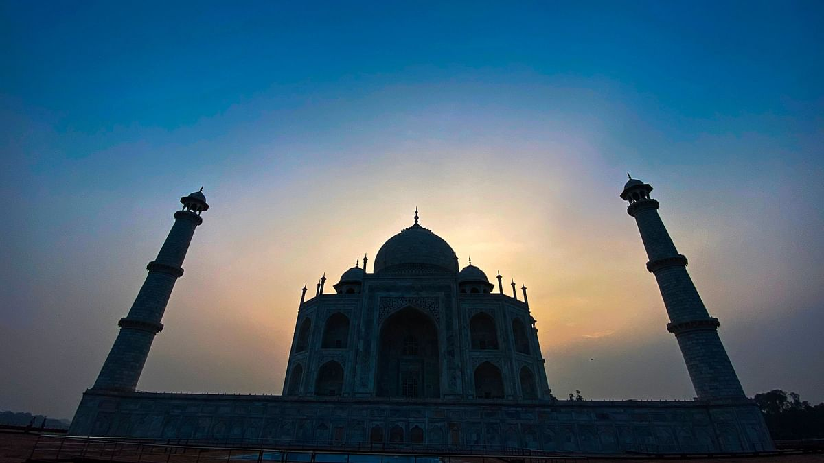 In Pictures: Taj Mahal opens with all COVID-19 norms in place