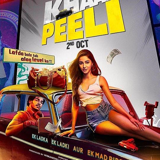 Ishaan Khatter, Ananya Panday's 'Khaali Peeli' to release on Zee Plex on October 2