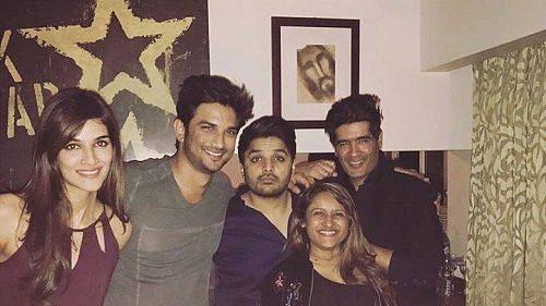 Kriti Sanon, Sushant Singh Rajput, Imtiaz Khatri, Rohini Iyyer, Manish Malhotra