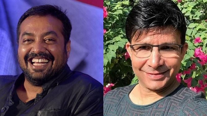 'Bewaqoof bhakt...': Anurag Kashyap's epic reply to KRK for sharing his death hoax