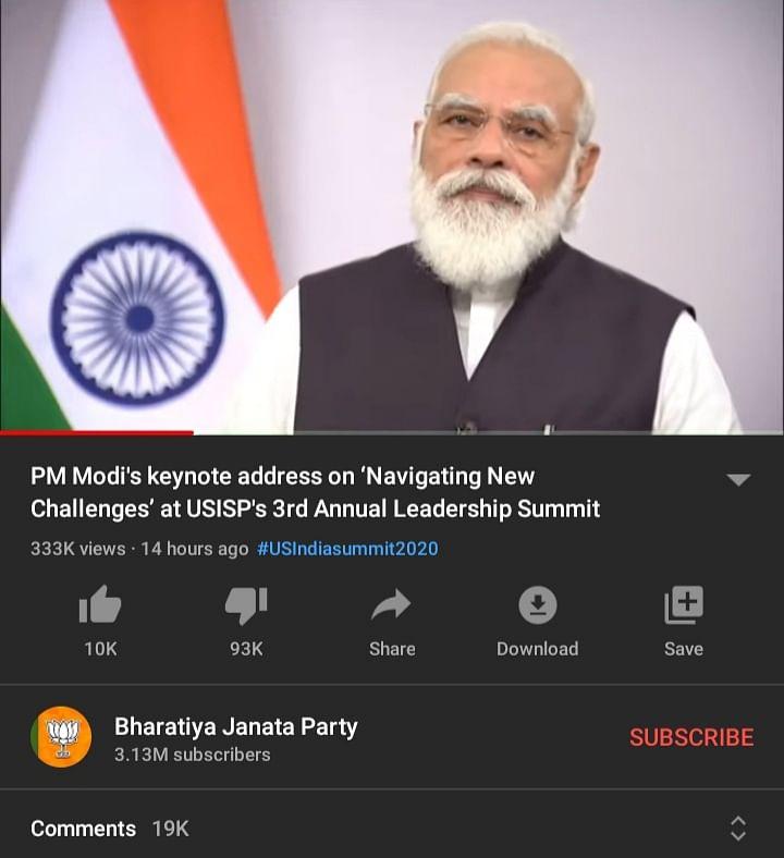 Missing chicken dinner on PUBG? After Mann Ki Baat, PM Modi's videos are still getting massively disliked on YouTube