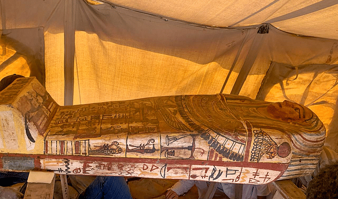 Pharaonic tomb discovered in Egypt
