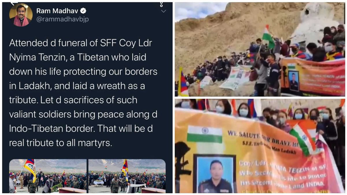 Why did Ram Madhav delete his tweet about SFF soldier's funeral?