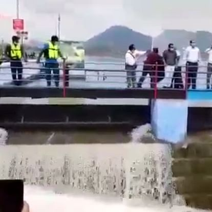 Gates of Fateh Sagar lake in Rajasthan's Udaipur opened after rise in water level