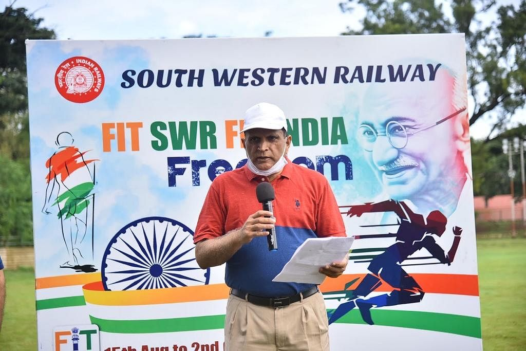 Fit India Freedom Run by South Western Railway on Sept 12