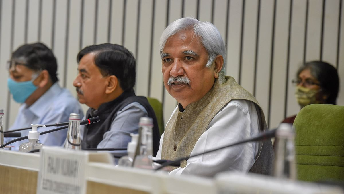 Call on bypolls on September 29: CEC Sunil Arora