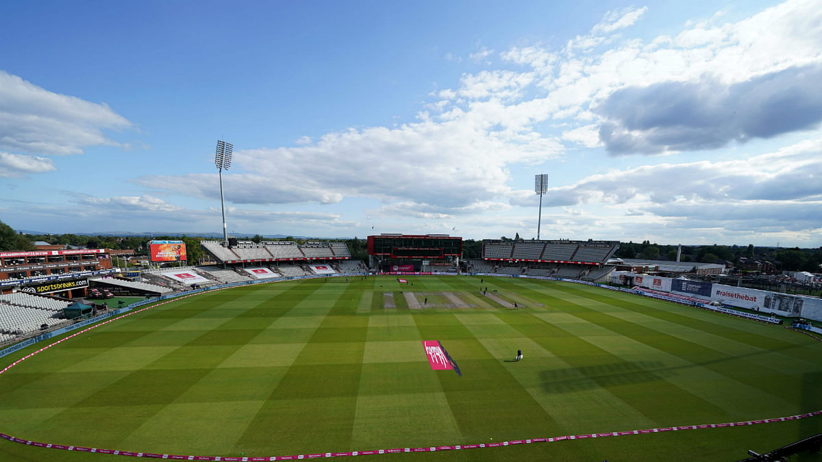 Old Trafford cricket ground in Manchester, England