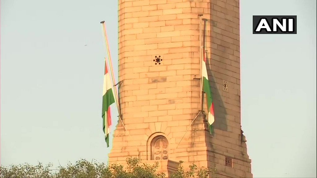 Pranab Mukherjee's death: Flags at Rashtrapati Bhavan and Parliament fly at half-mast