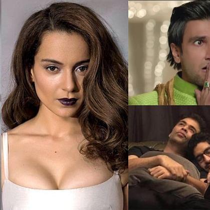 Kangana Ranaut wants Ranveer Singh, Ranbir Kapoor, Ayan Mukerji, Vicky Kaushal to undergo drug test