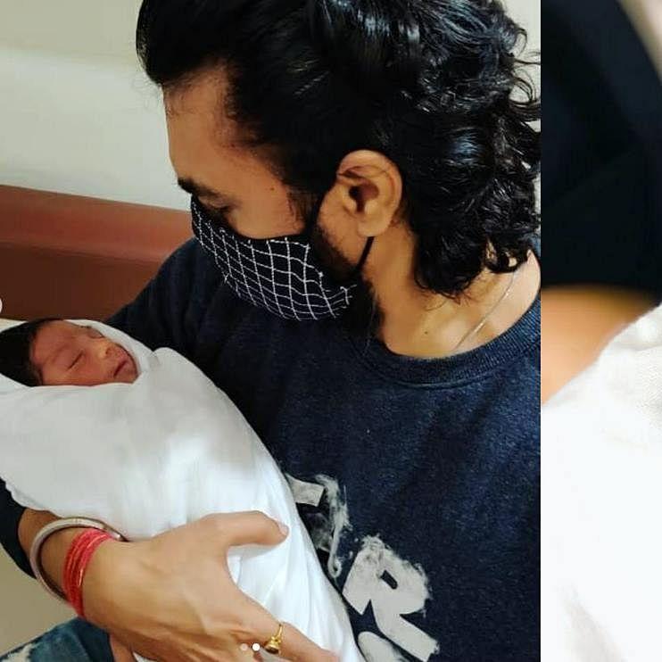 'Mere ghar aaya ek nanha kunwar': TV actor Gaurav Chopra shares first pictures of baby boy Prince