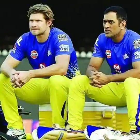 Watch: MS Dhoni, Shane Watson enjoy net sessions at 'ripe old age of 39'