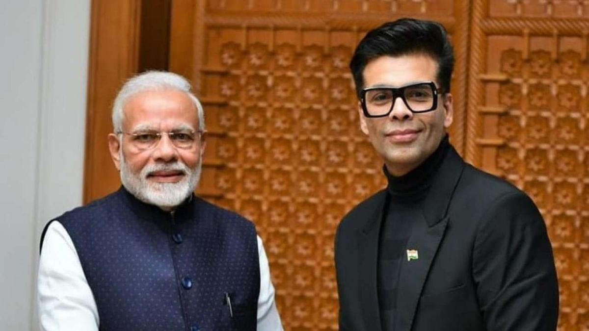 Karan Johar with PM Narendra Modi