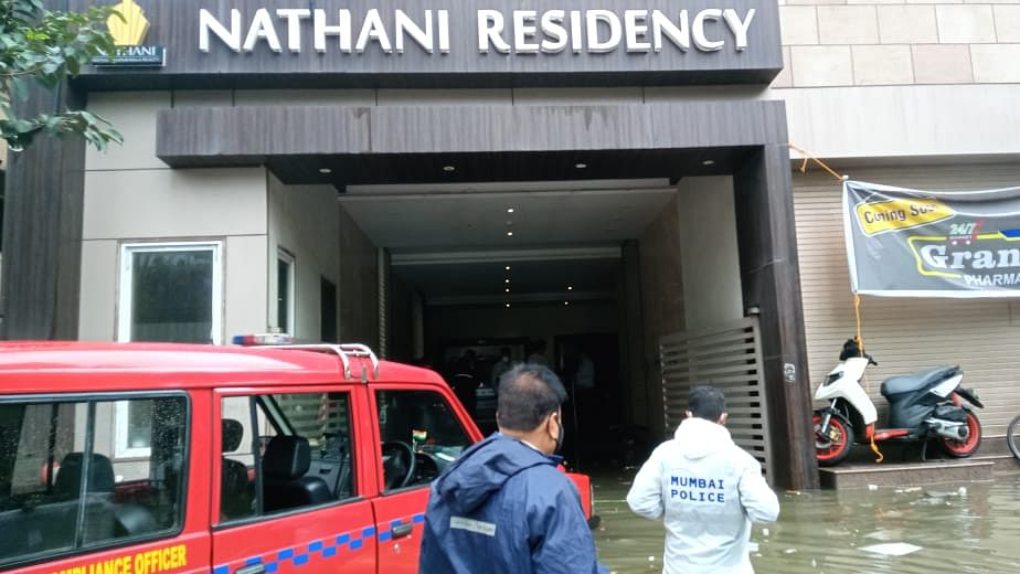 Two security guards of a Mumbai Central high-rise die after lift floods with rainwater