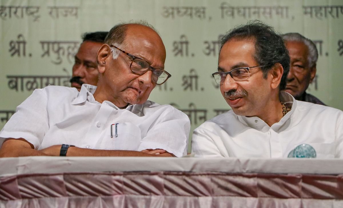 NCP and Shiv Sena chiefs discuss  plan B for upper house nominations