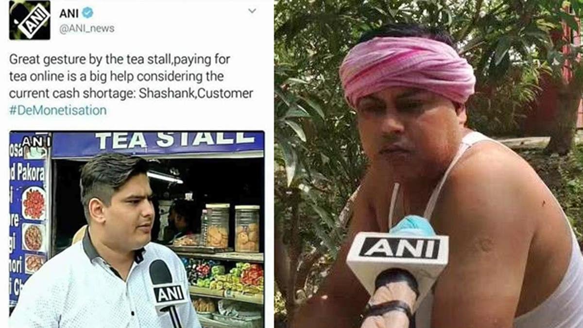 Smita Prakash slams netizens who claim ANI interviewed the same person for demonetization and farm bills