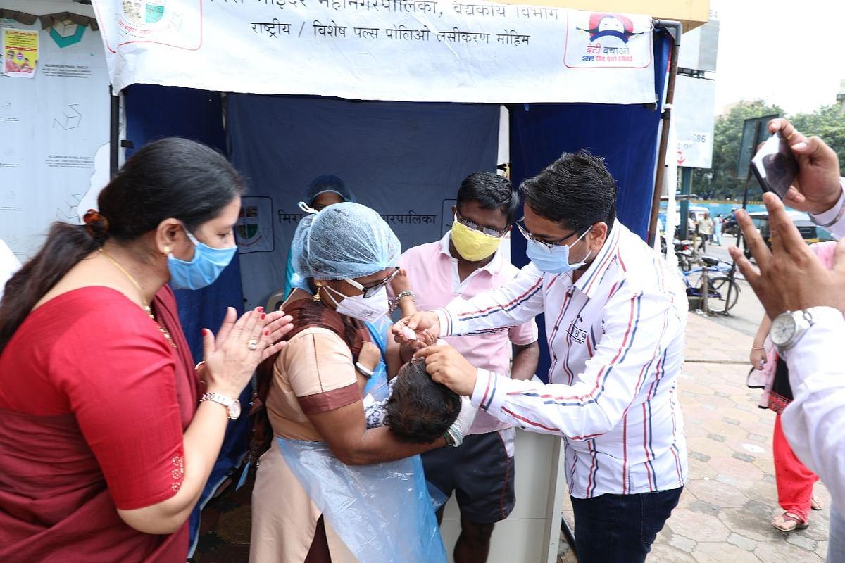 Mira Bhayandar: MBMC starts Pulse Polio immunization drive