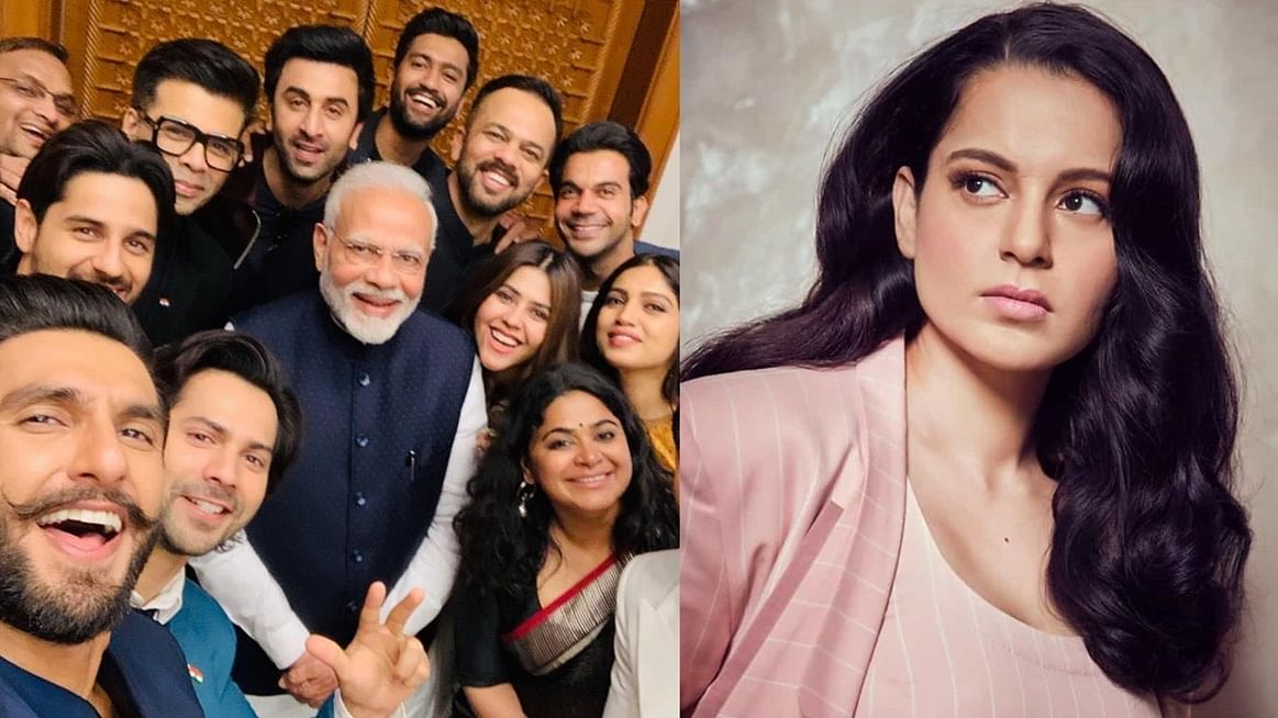 From Alia Bhatt to Ranveer Singh, every Bollywood celeb in PM Modi's epic selfie Kangana Ranaut resents