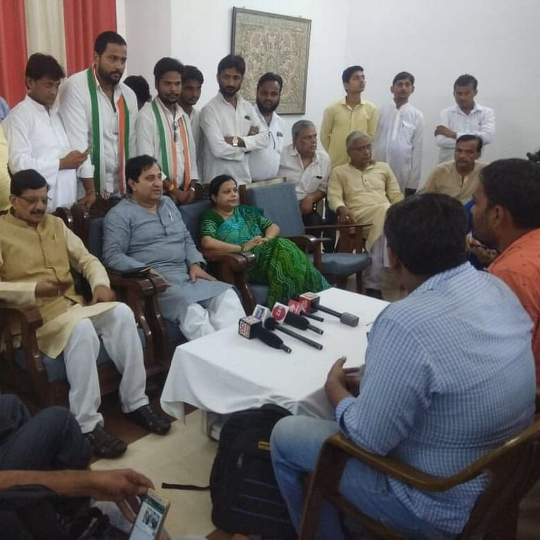 Bihar Congress chief Madan Mohan Jha in Delhi to finalise seat-sharing with RJD