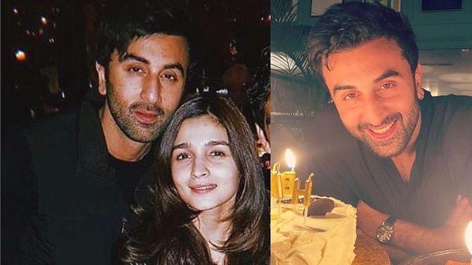 Alia Bhatt wishes beau Ranbir Kapoor on 38th birthday; Kareena and Karisma share throwback pics