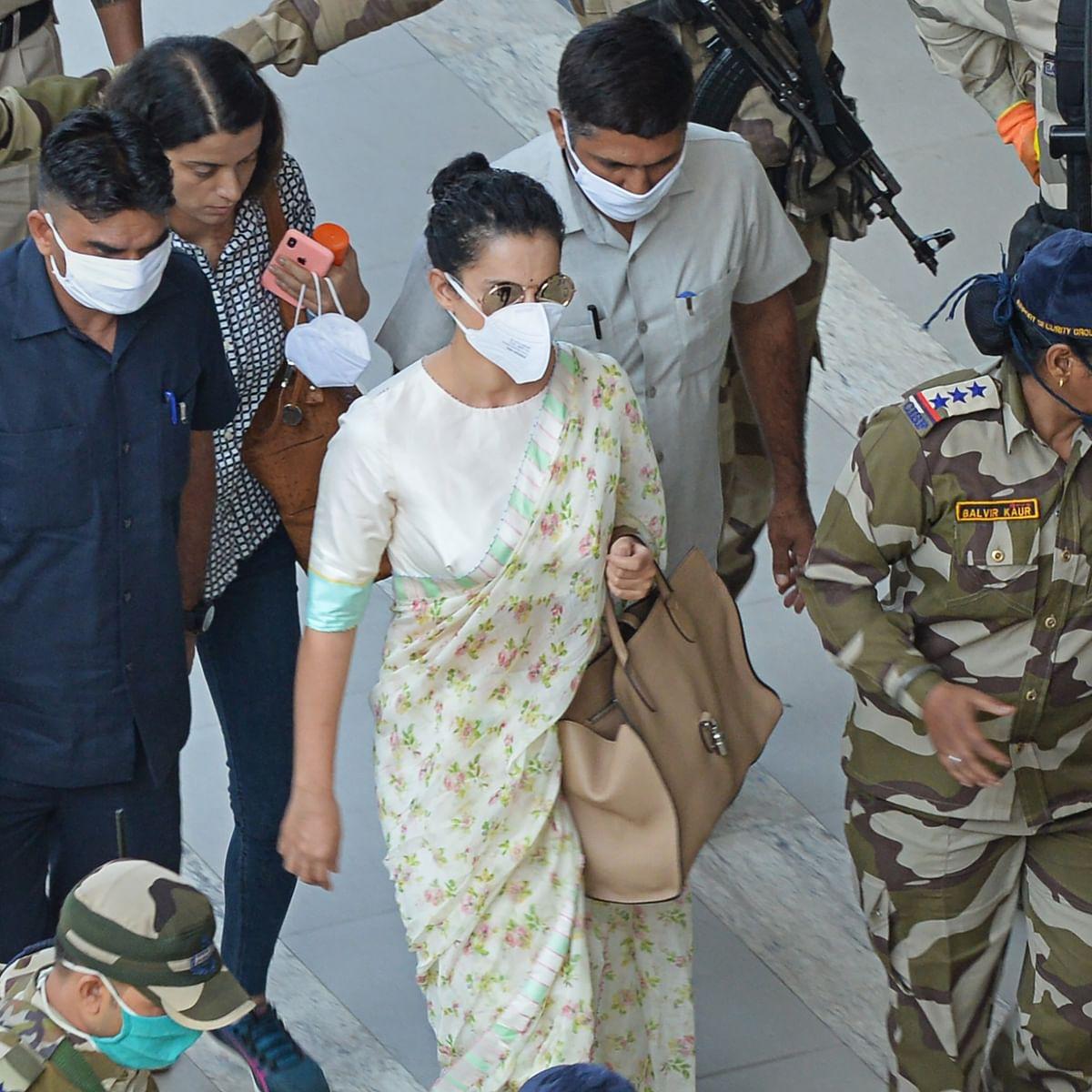 'People have stopped eating, drinking': Twitter bids farewell to Kangana as she leaves Mumbai