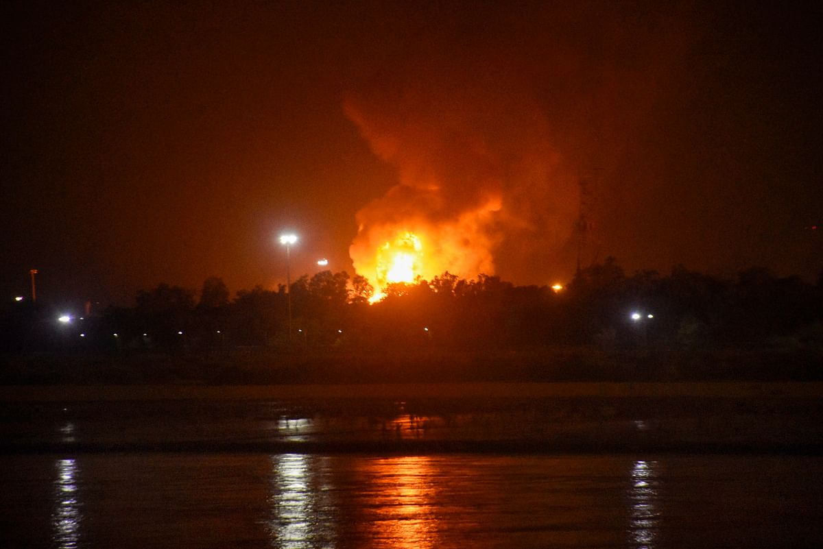 Surat: Fire at ONGC's Hazira plant; extinguished, no casualties reported