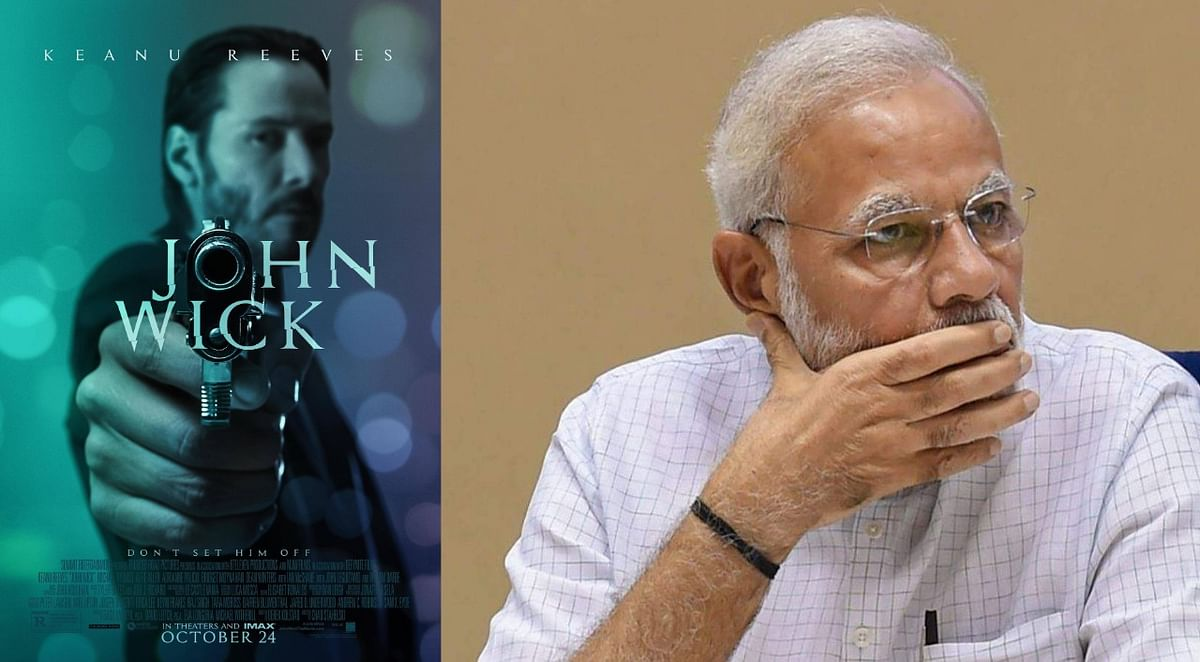 'John Wick' hacks PM Modi's personal website's Twitter handle