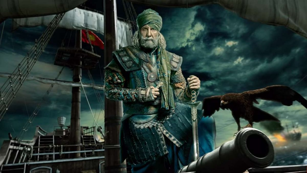 A still of Amitabh Bachchan from 'Thugs of Hindostan'