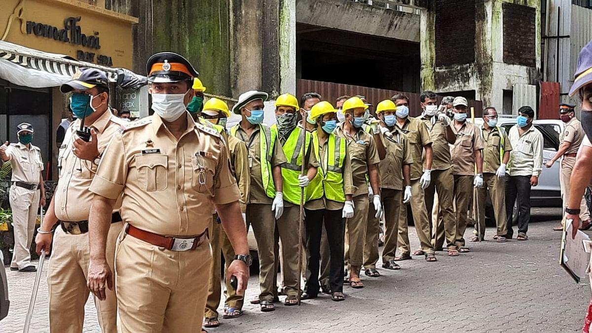 In Pictures: BMC officials demolish Kangana Ranaut's Mumbai office