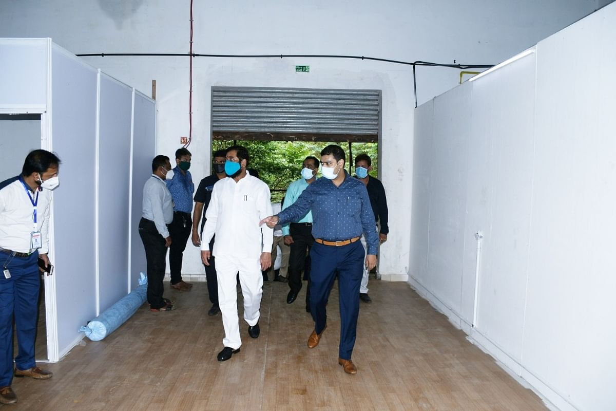 Coronavirus in Thane: Eknath Shinde inaugurates new COVID-19 hospital with 440 beds