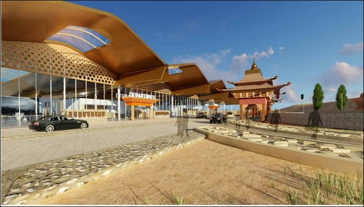 Airports Authority of India building a new terminal at Leh airport to handle 20 lakh passengers annually