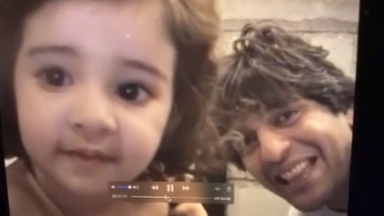 Watch: Ananya Panday wishes father Chunky with adorable throwback video, says 'I'll always be ur baby'