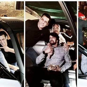 Kichcha Sudeep's birthday special: When Salman Khan gifted the Kannada superstar a swanky BMW worth Rs 1.55 crores