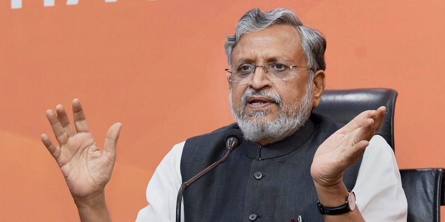 Sushil Modi nominated as BJP candidate for Rajya Sabha bypoll in Bihar