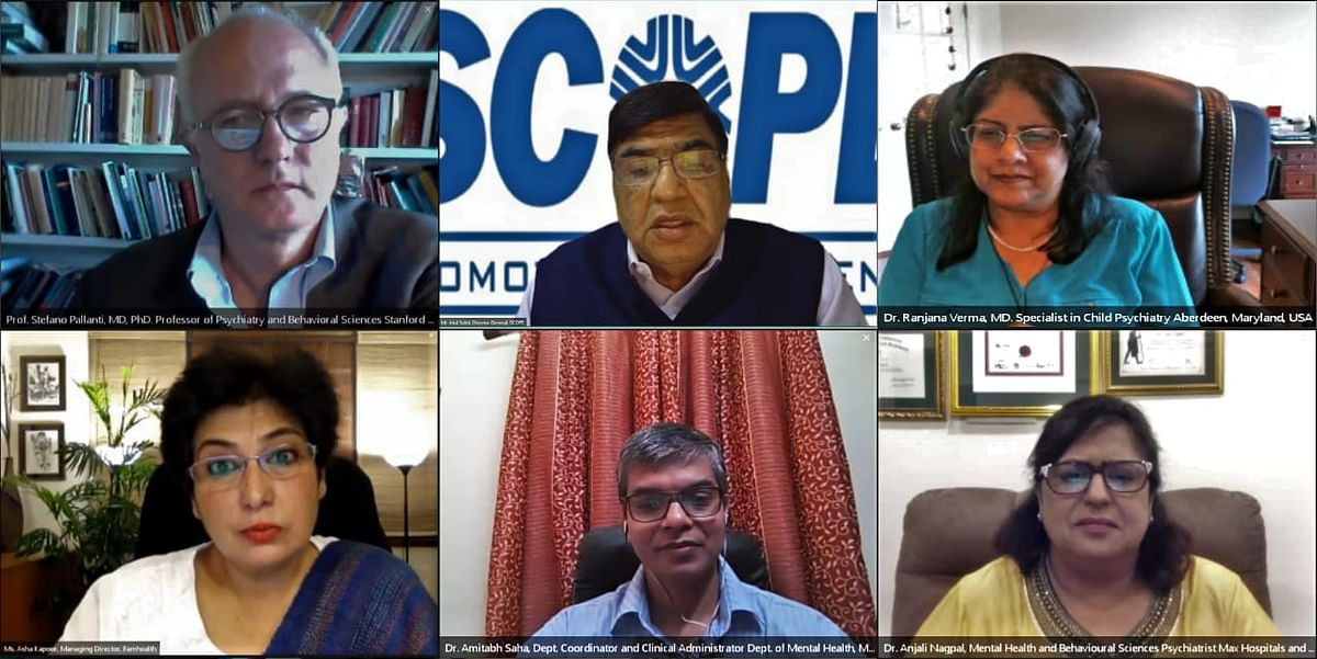 SCOPE addresses Mental Health in its International Webinar