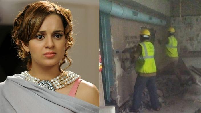 'Babur, death of democracy': Kangana Ranaut reacts to BMC demolishing her Mumbai office