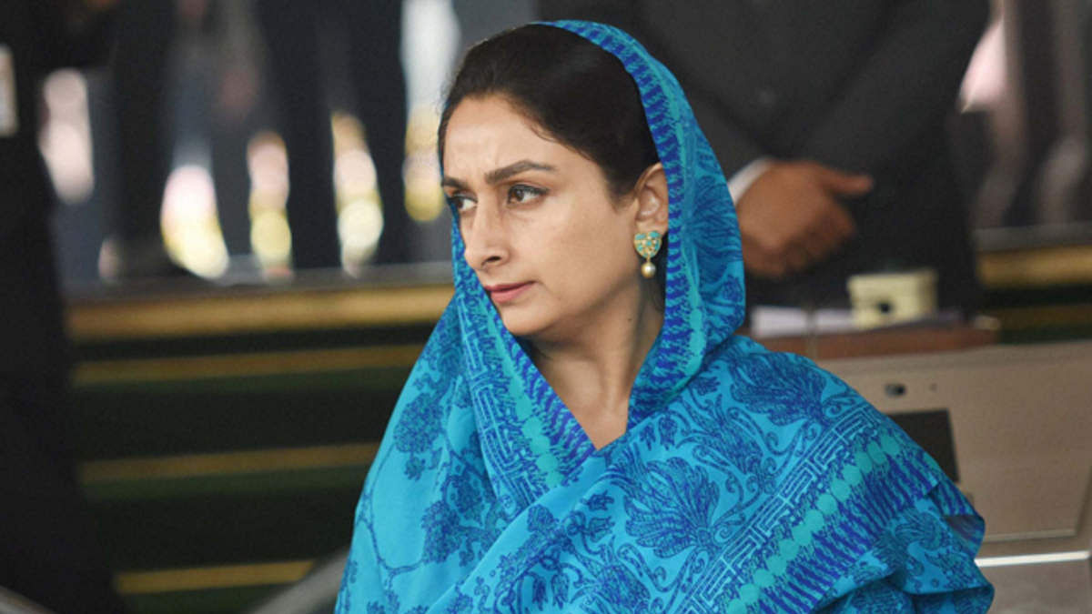 Union Minister Harsimrat Kaur Badal to quit Modi govt over farm bills tabled by Centre