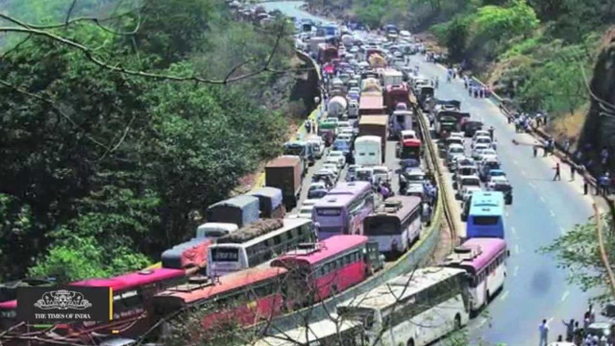 Mumbai-Pune Expressway traffic back as travel curbs end