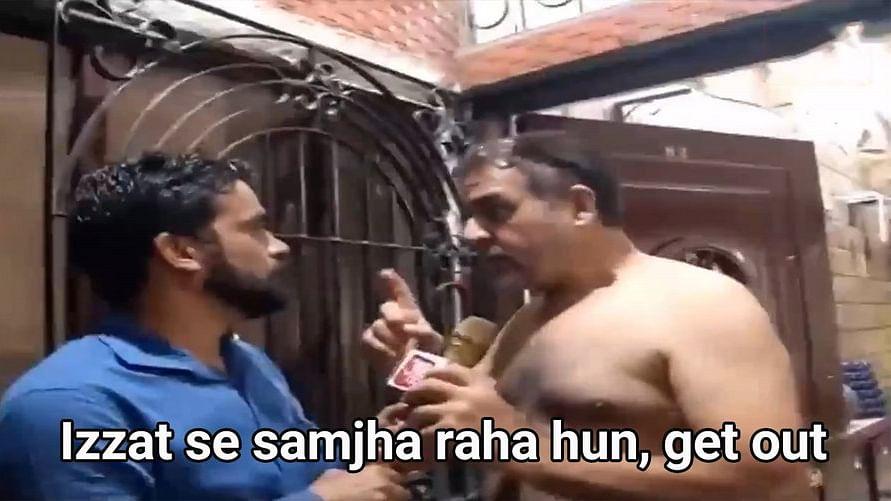 'Izzat se samjha raha hun get out': The internet's new favourite meme starring Zaid Vilatra's dad