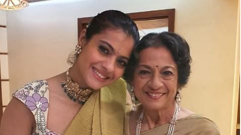 Kajol writes of her 'warrior' mother as Tanuja turns 77