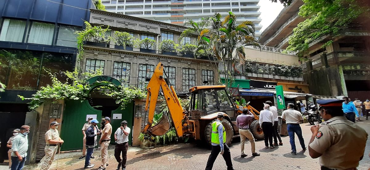 Watch: Pics and videos of BMC destroying Kangana Ranaut's office