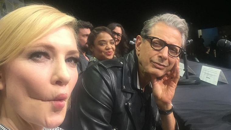 Jeff Goldblum was 'starstruck' by Cate Blanchett during 'Thor: Ragnarok' filming