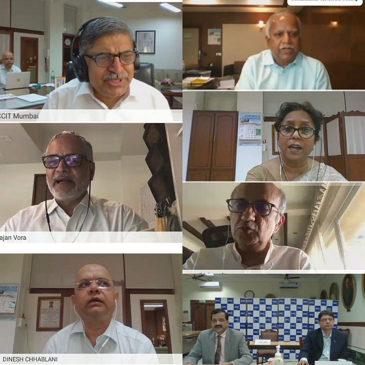 IMC, Bombay Chamber of Commerce & Industry organises webinar on 'The Scheme and Practical Aspects of Faceless Assessment, Appeals and Taxpayer's Charter'