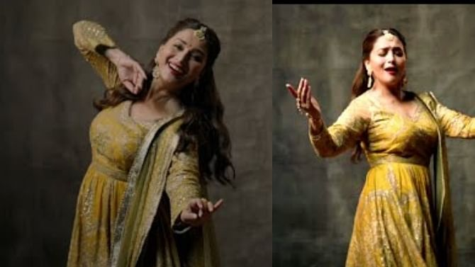 After Anil Kapoor and Bappi Da, 'Dhak Dhak girl' Madhuri Dixit gets rejected by Cred