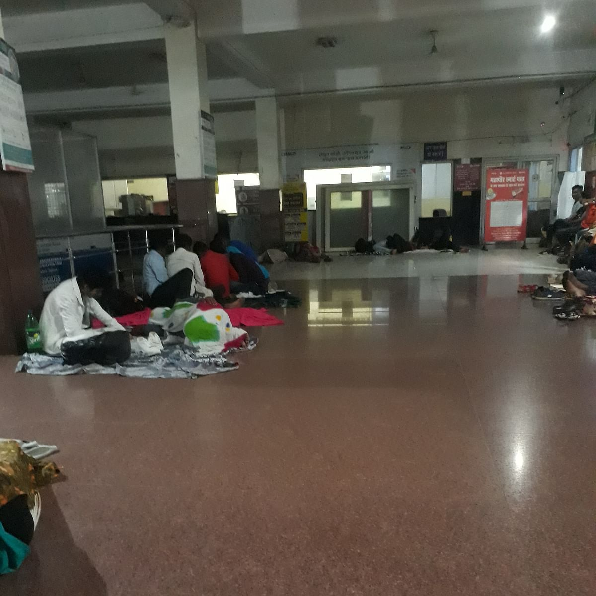 NEET 2020: Students, families sleep on floor amid Covid spread in Bhopal