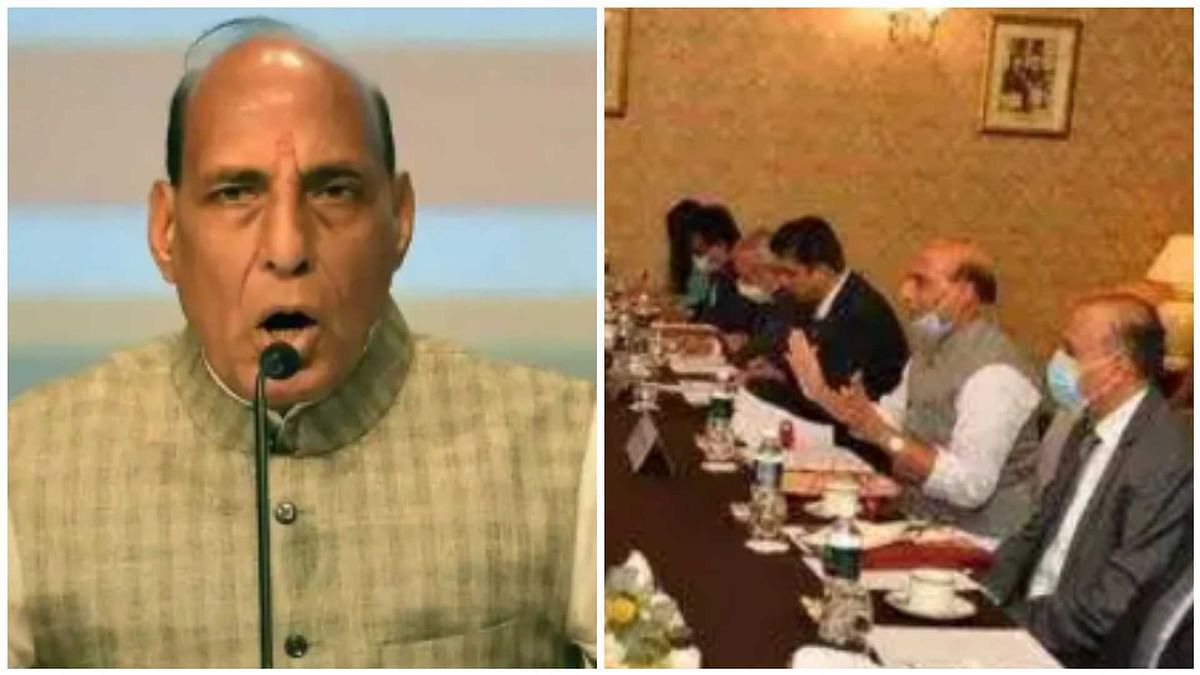 'There should be no doubt about India's determination to protect its sovereignty': Rajnath Singh tells Chinese counterpart