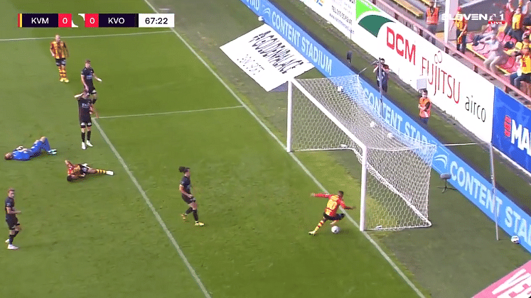 Watch: Belgian teenager's horrific blooper is the worst miss in football history