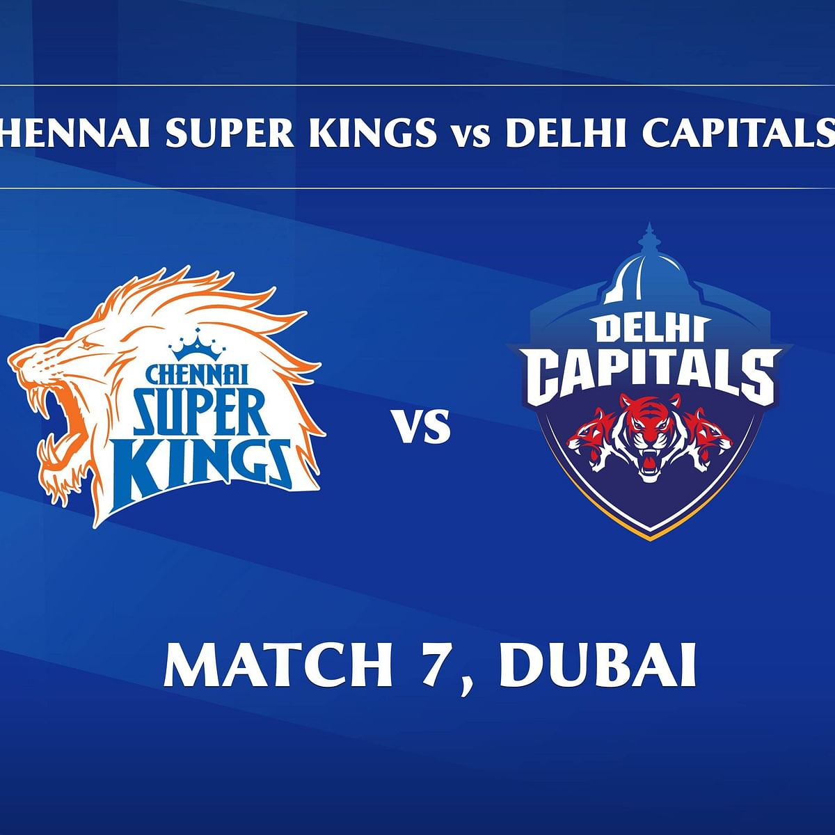 Chennai Super Kings vs Delhi Capitals LIVE: Score, Commentary for the 7th match of IPL 2020