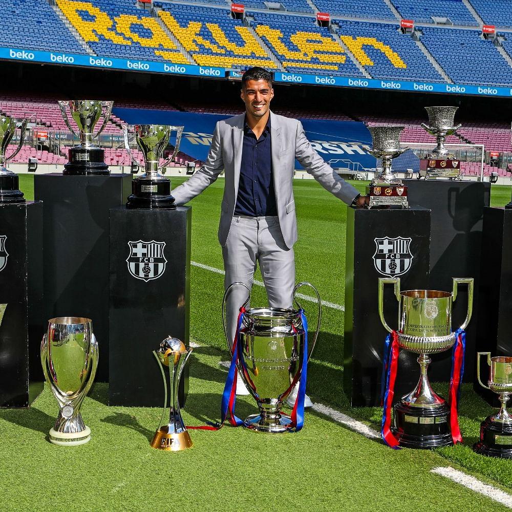 Luis Suarez leaves Barcelona, joins Atletico Madrid
